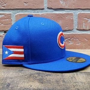 NEW!! Mens New Era Chicago Cubs 59FIFTY 7 1/2